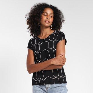 Camiseta Cativa Estampada Feminina