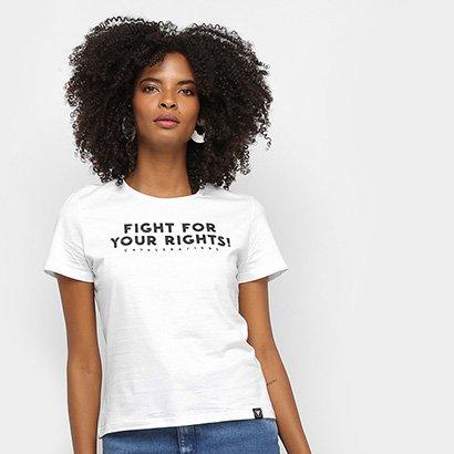 Camiseta Cavalera Fight For Your Rights Feminina
