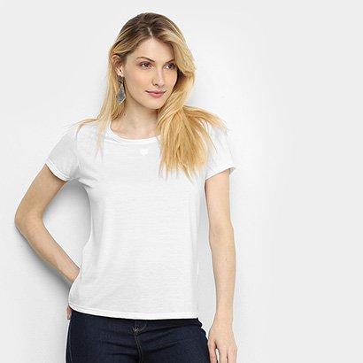 Camiseta Cavalera Ginna Básica Feminina