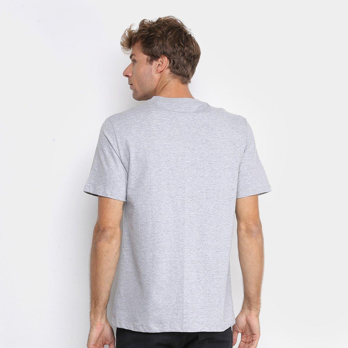 Camiseta Cavalera Mininja Masculina - Mescla