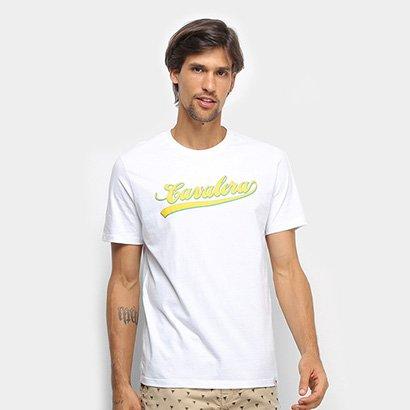 Camiseta Cavalera T Shirt Script Básica Masculina
