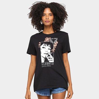 Camiseta Cavalera Tee Classic Ramones Feminina
