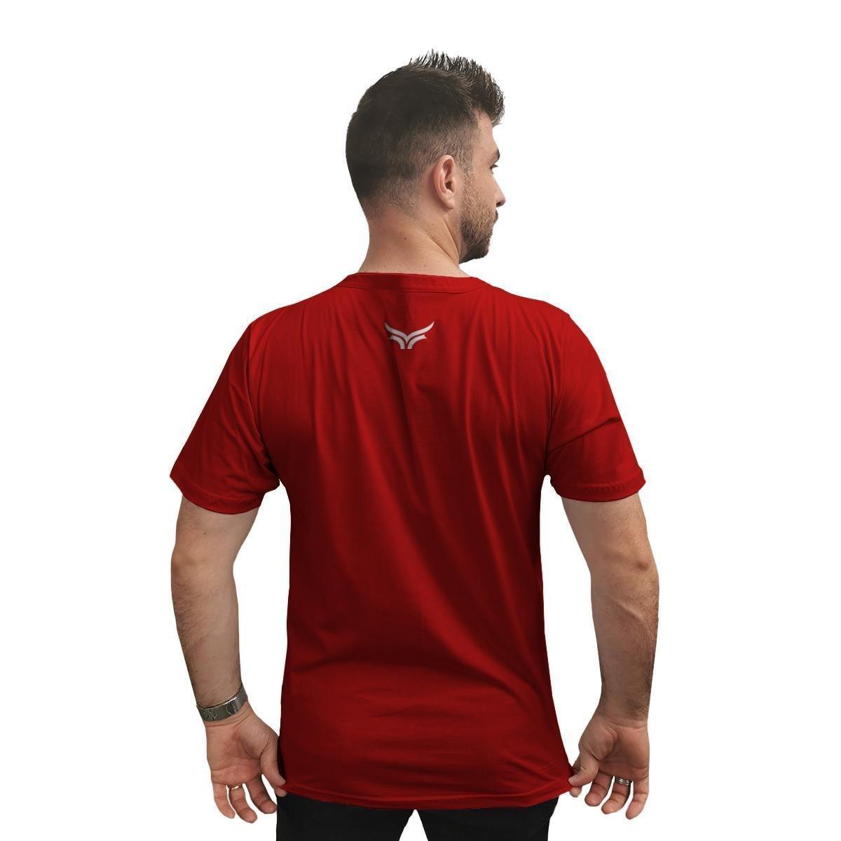 Camiseta Cellos Circle Premium Masculina - Vermelho
