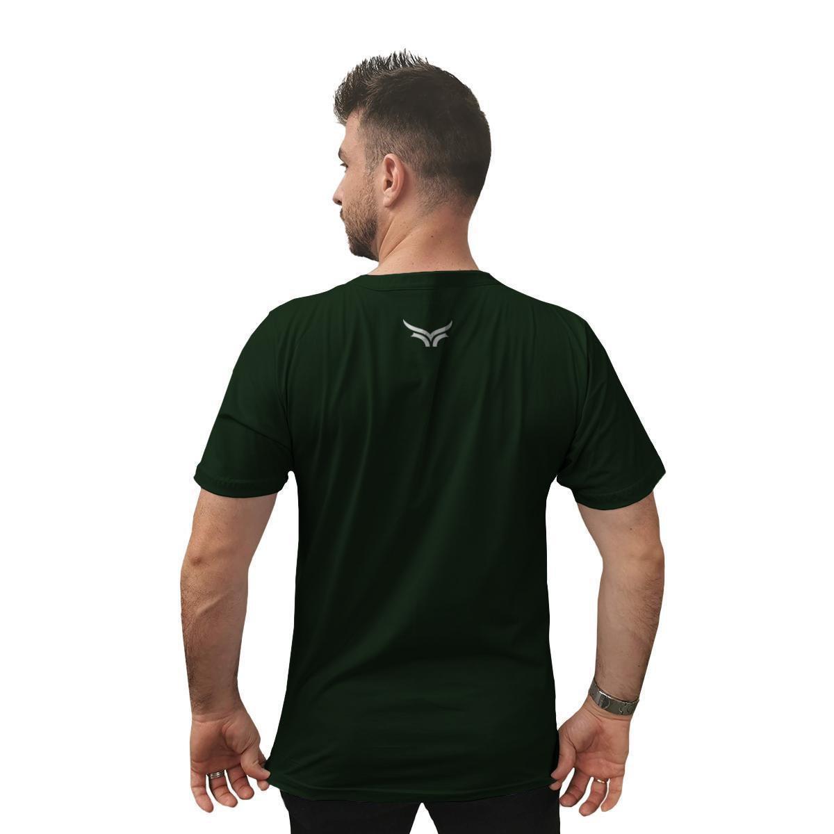 Camiseta Cellos Honey Premium Masculina - Verde Militar