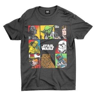 Camiseta Chemical Estampada All Star Wars