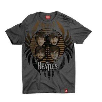 Camiseta Chemical Estampada Beatles Striped