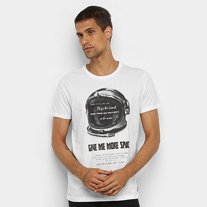 Camiseta Colcci Astronauta Masculina