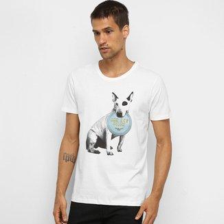 Camiseta Colcci Bad Dog Masculina