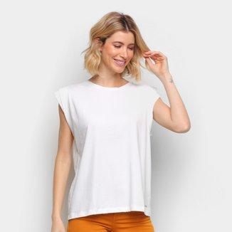 Camiseta Colcci Básica Feminina