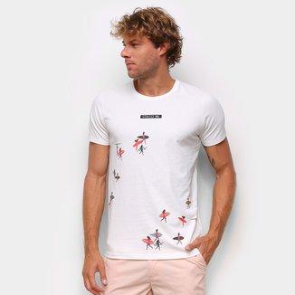 Camiseta Colcci Básica Surf Masculina