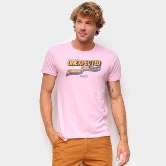 Camiseta Colcci Básica Unexpected Masculina