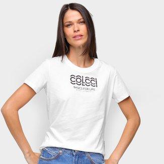 Camiseta Colcci Basics Feminina