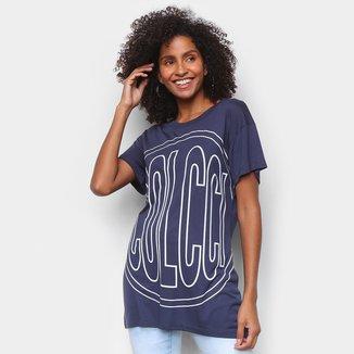 Camiseta Colcci Big Logo Feminina