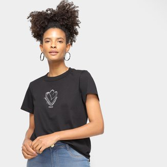 Camiseta Colcci Bordada Feminina