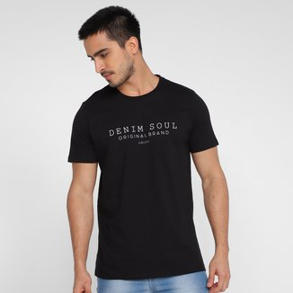 Camiseta Colcci Denin Soul Original Brand Masculina