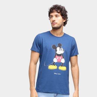 Camiseta Colcci Disney Manga Curta Masculina