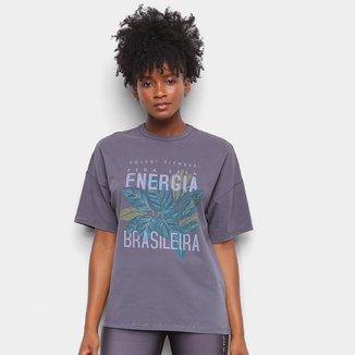 Camiseta Colcci Energia Brasileira Feminina