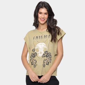Camiseta Colcci Enigma Feminina