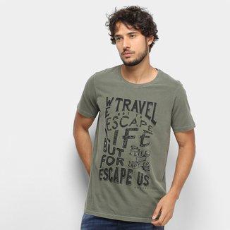 Camiseta Colcci Escape Masculina