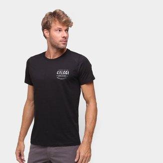 Camiseta Colcci Estampada Manga Curta Masculina