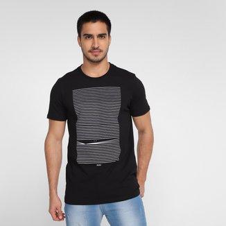 Camiseta Colcci Estampada Masculina