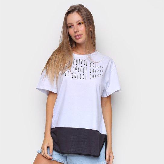 Camiseta Colcci Eye Feminina - Branco
