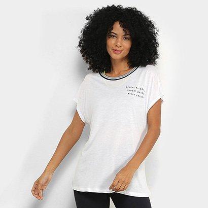 Camiseta Colcci Fitness Street Feminina