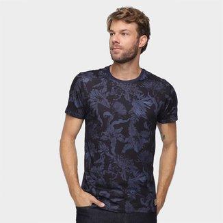 Camiseta Colcci Floral Masculina