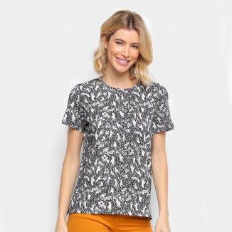 Camiseta Colcci Full Print Feminina