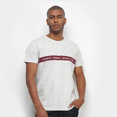 Camiseta Colcci Hawaii Masculina