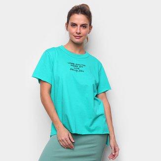 Camiseta Colcci Less Online Feminina