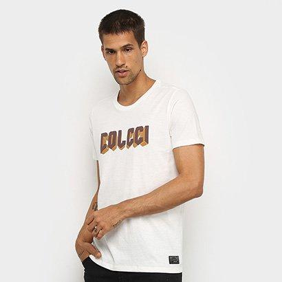 Camiseta Colcci Logo 3D Masculina