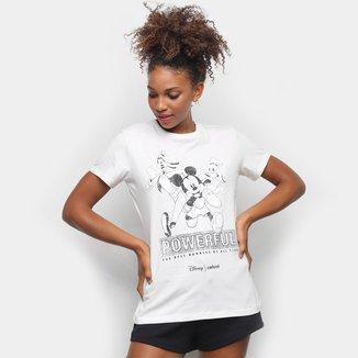 Camiseta Colcci Mickey and Friends Feminina