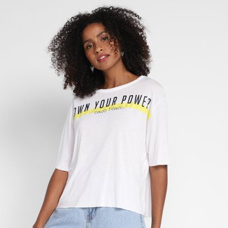 Camiseta Colcci Own Your Power Feminina