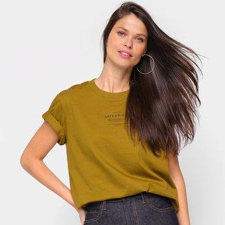 Camiseta Colcci Serendity Feminina