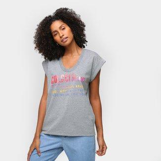 Camiseta Colcci SM Over Feminina
