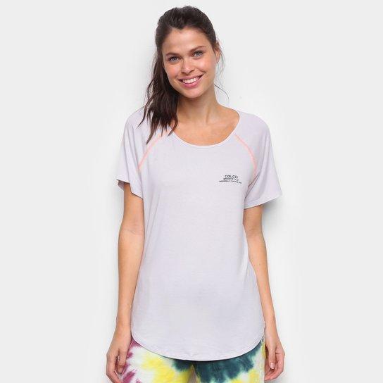 Camiseta Colcci Sportstyle Feminina - Cinza
