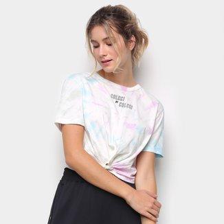 Camiseta Colcci Tie Dye Amarração Feminina
