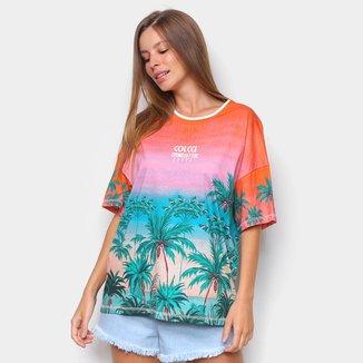 Camiseta Colcci Trendsetter Summer Feminina