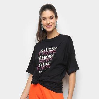 Camiseta Colcci Tropical Feminina