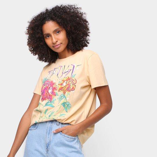 Camiseta Colcci Trust Feminina - Bege