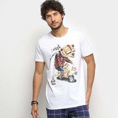 Camiseta Colcci Urso Wild Masculina