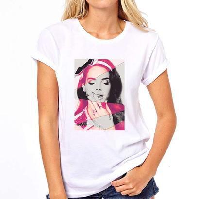 Camiseta Coolest Lana Del Rey Feminina