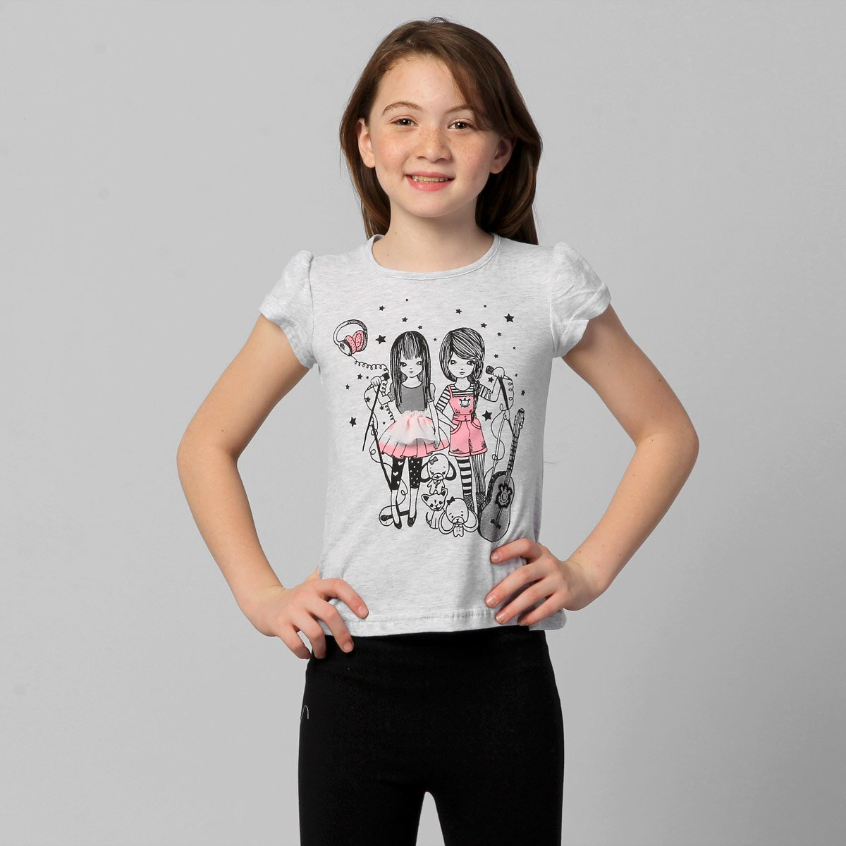 Camiseta Corinthians Meninas Corinthianismo Infantil - Compre Agora ... 1fd9aa374cb71