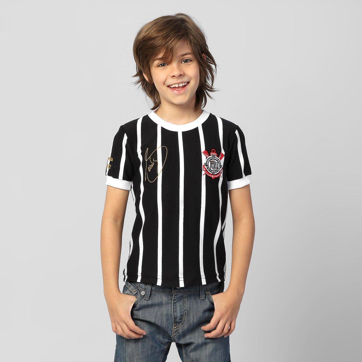 Camiseta Corinthians Sócrates Réplica Infantil - Compre Agora  a08a32aeb3f4d