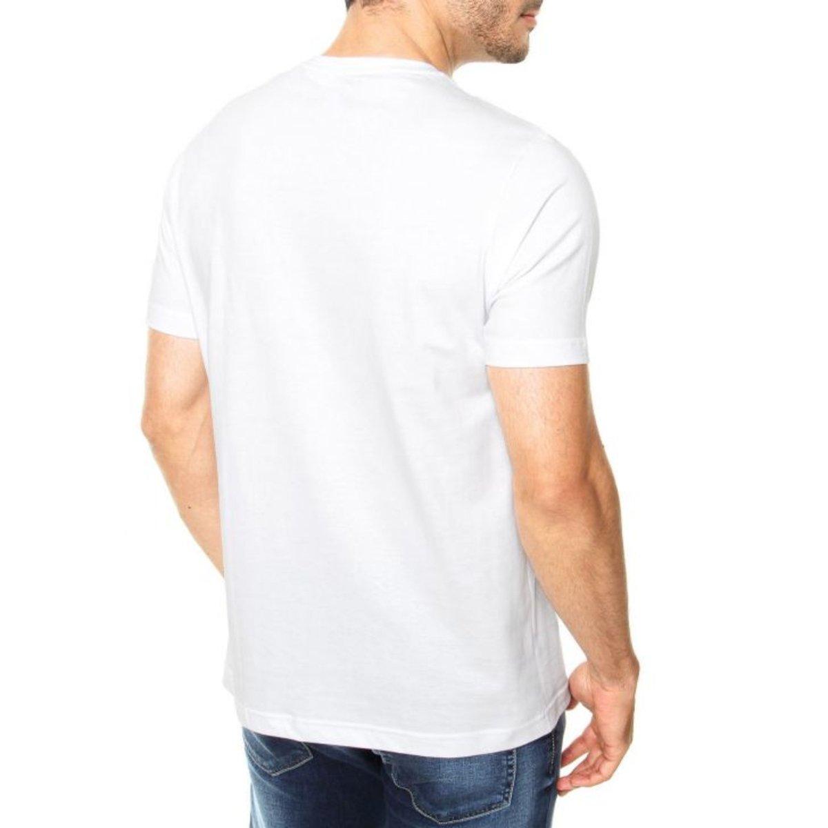 Camiseta Criativa Urbana Caveira Punk - Branco oxhASDwx