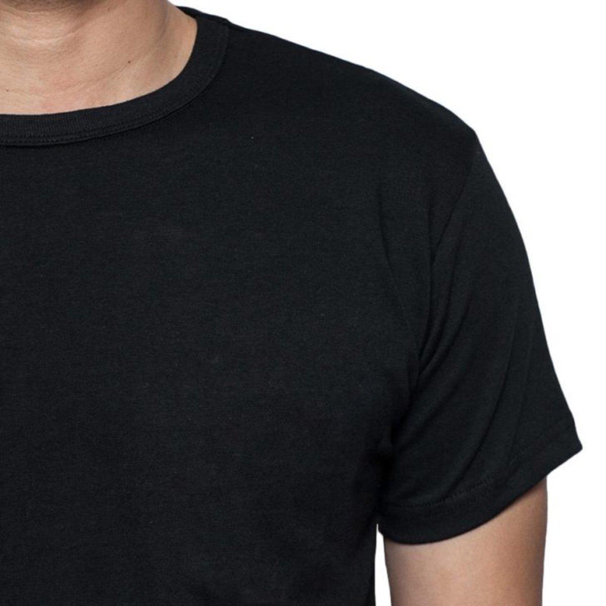 32dd7408e0 Camiseta Criativa Urbana Gospel Evangélica Religiosa Vida - Preto ...