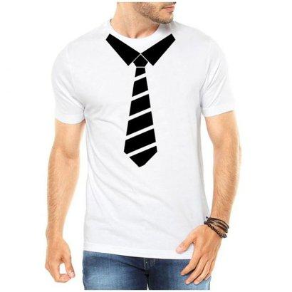 Camiseta Criativa Urbana Gravata Divertidos