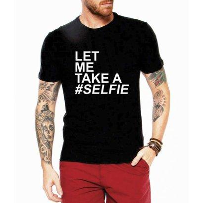 Camiseta Criativa Urbana Let Me Take a Selfie Nerd Geek