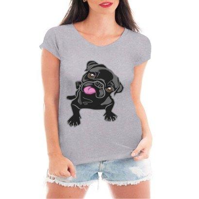 Camiseta Criativa Urbana Pug Love Dog